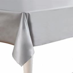 Tafelkleed zilvergrijs