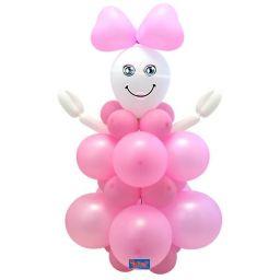 Ballonset meisje
