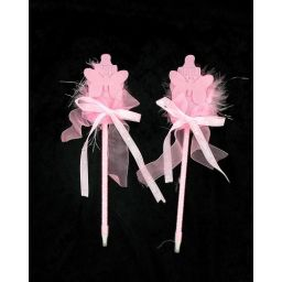 Babyshower pen roze