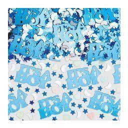 Confetti it's a boy