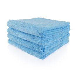 Funnies handdoek licht blauw (evt. borduren)
