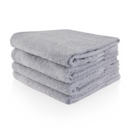 Funnies handdoek grijs (evt borduren)