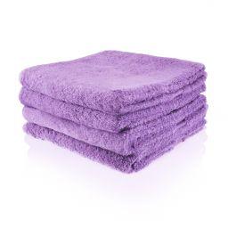 Funnies handdoek paars (evt. borduren)