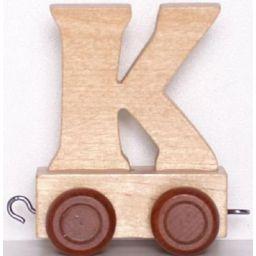 Lettertrein letter K