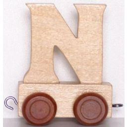 Houten Lettertrein wagon N