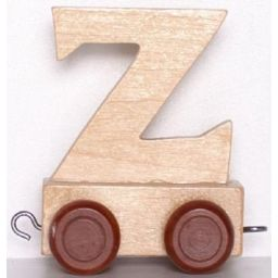 Lettertrein letter Z