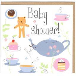 Kaart babyshower