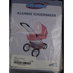 Klamboe kinderwagen wit