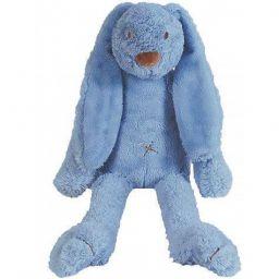 Knuffel Richie Rabbit donkerblauw 58 cm
