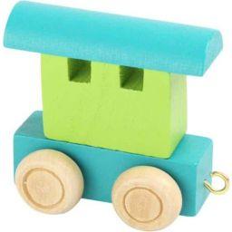 Lettertrein wagon kleur