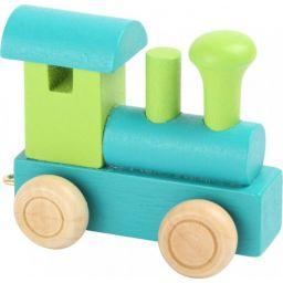 Locomotief lettertrein kleur