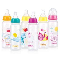 Babyfles 240 ml met speen