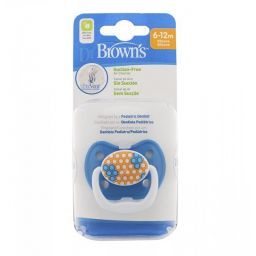 Dr brown fopspeen fase 2 blauw 6-12mnd