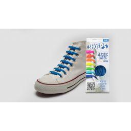 Shoeps elastische veters, sky blue