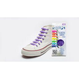Shoeps elastische veters, purple rain