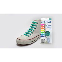 Shoeps elastische veters, sea green