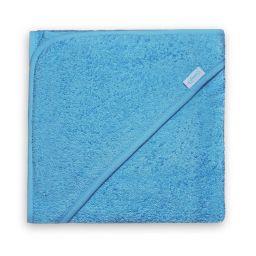 Badcape babyblauw