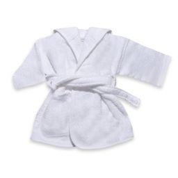 Badjas peuter wit 1-2 jaar