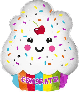 helium ballon ijsje congrats