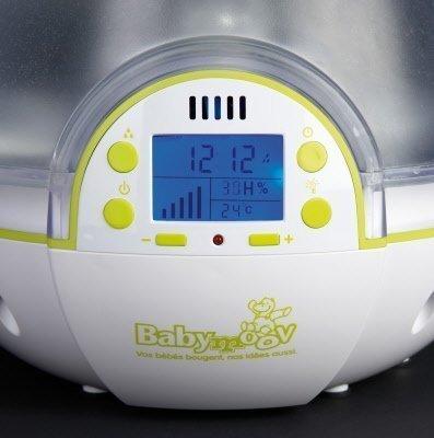 Luchtvochtigheid babykamer