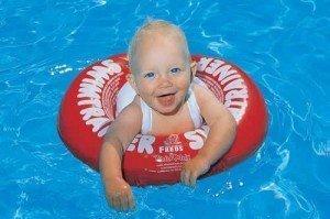 Baby zwemband swimtrainer classic rood