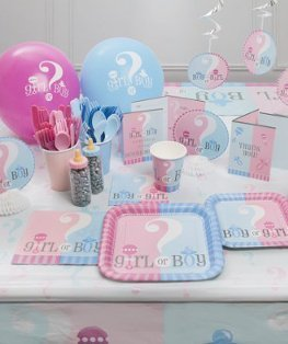 Gender Reveal Party versiering