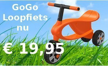 GoGo Bike loopfiets aanbieding